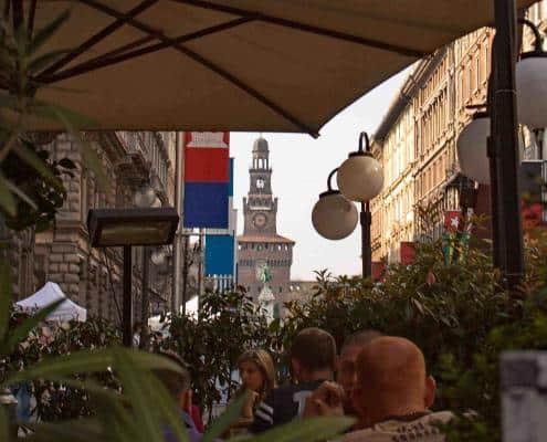 Milan Via Dante