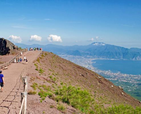 Vesuvius near Naples