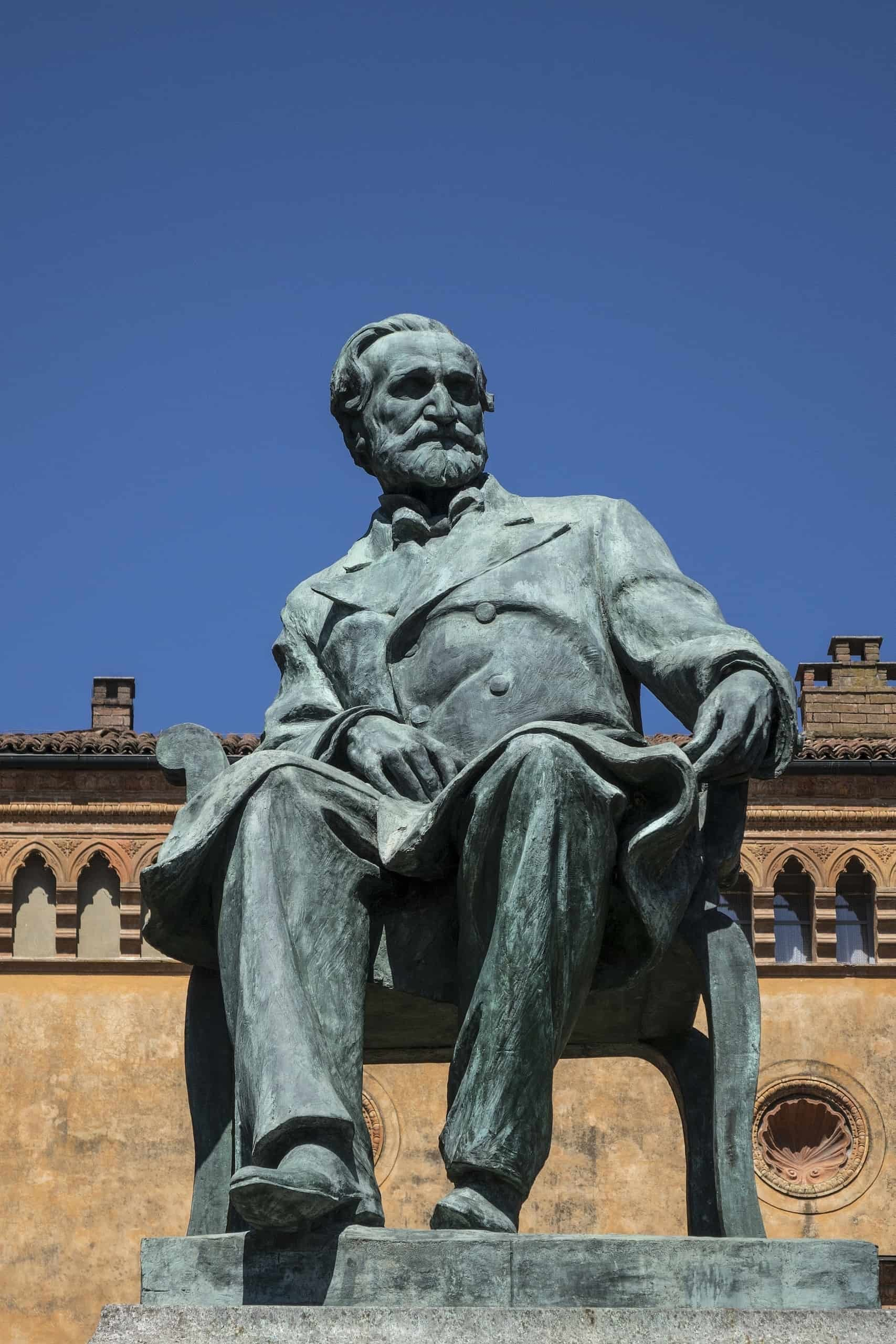 Italian Composer Giuseppe Verdi is famous for Italian Opera. Music Trips to Italy are often associated with Verdi.