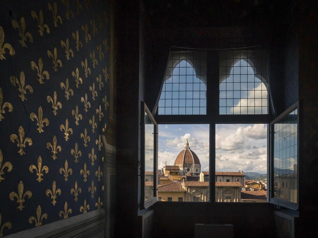 View to Florence Cathedral