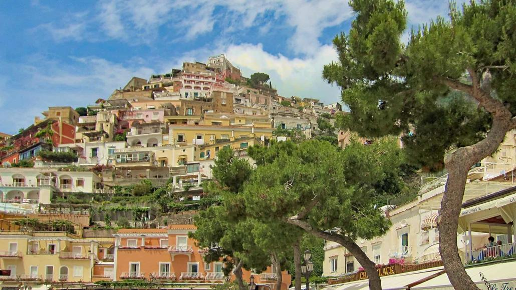 Positano is the most picturesque village on the Amalfi Coast, Campania