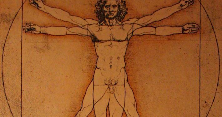 Vitruvianischer Mensch