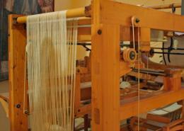 Leonardo da Vinci Weaving Machine