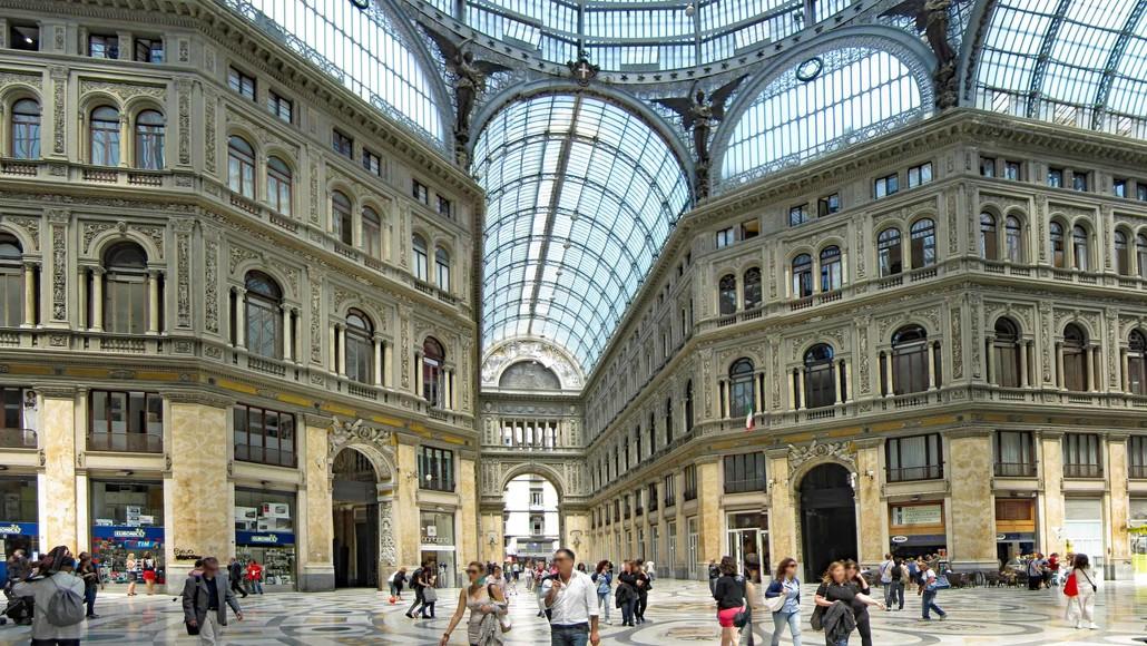 Napoli Galleria Umberto