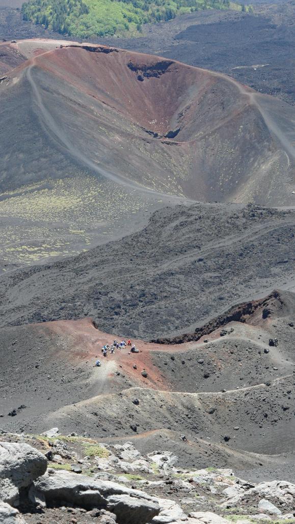 Etna Silvestri Crater