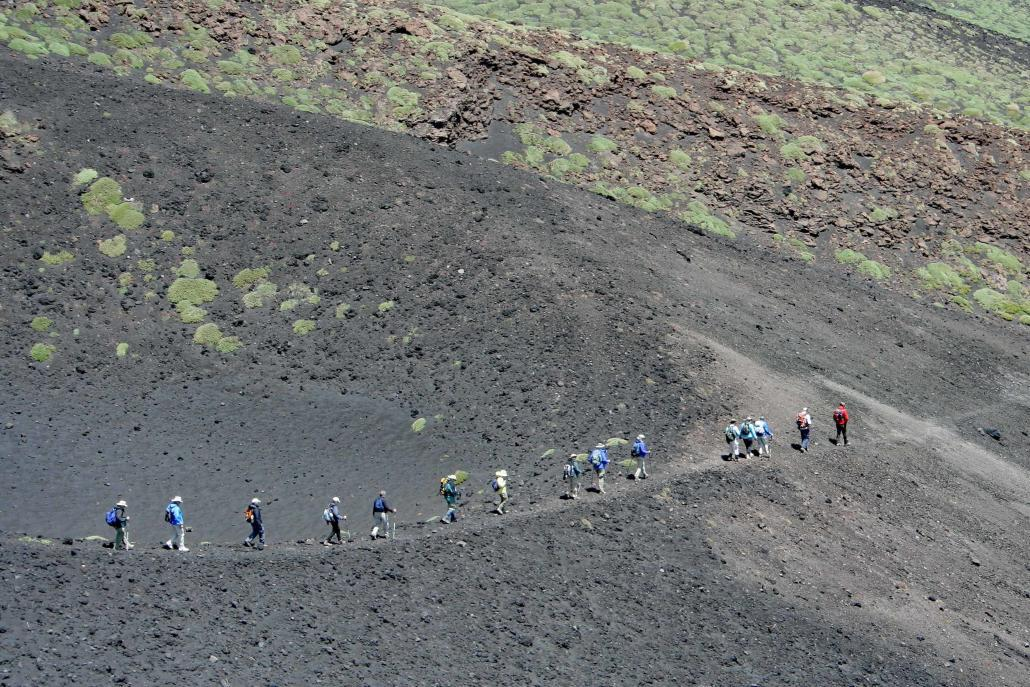 Guided tour of the Etna volcano, the highest active volcano in Europe