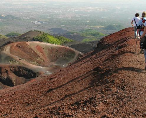 Der Etna auf Sizilien