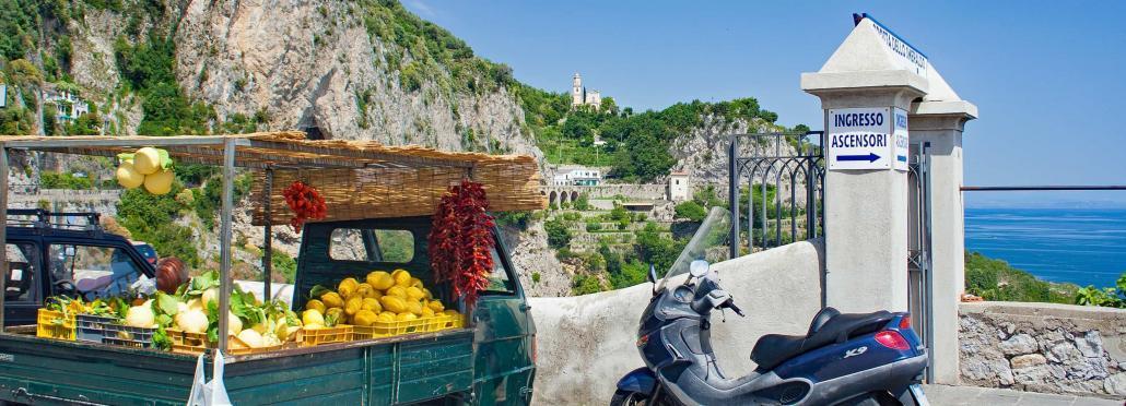 Lemons on the Amalfi Coast, Campania