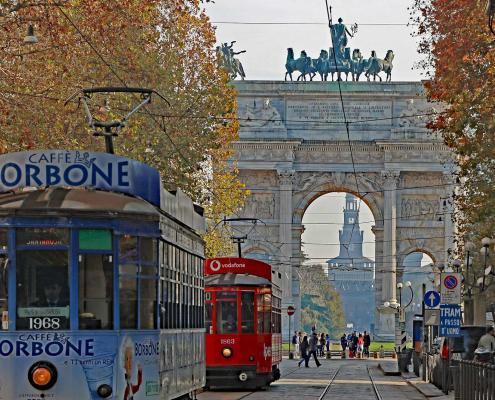 Tram Mailand