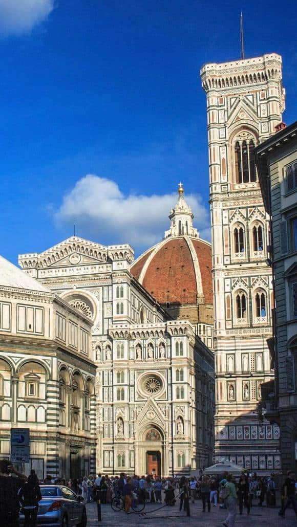 The Cathedral of Santa Maria del Fiore in Florence
