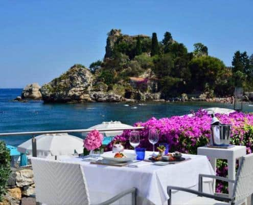 Restaurant in Sizilien