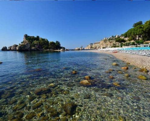 Strand in Sizilien