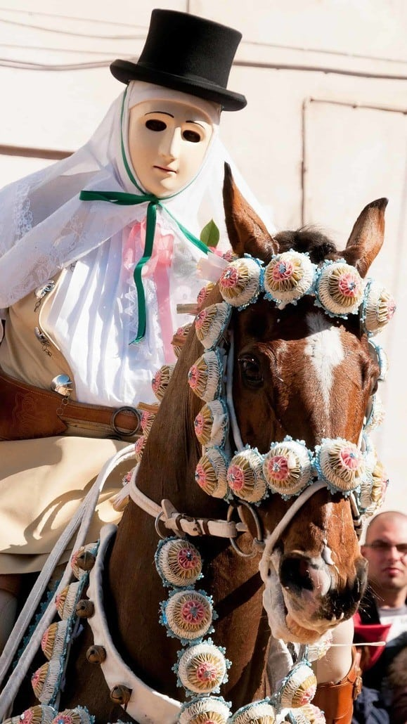 Oristano Sartiglia Festa, Sardegna