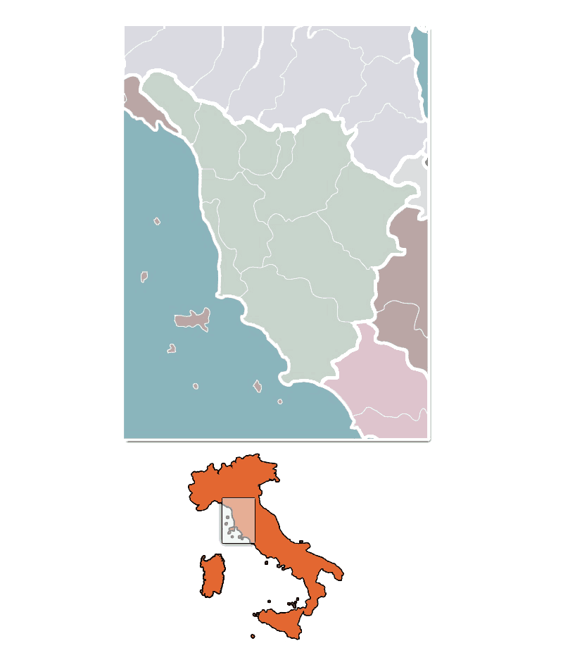 Tuscany Towns
