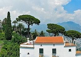 Fantastic views at the Ravello Music Festival over the Amalfi coast