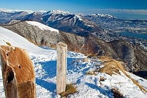 Wandern am Comer See nach Baita Patrizi - Monte Bolettone - Capanna Mara