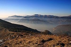 Wandern am Comer See in der Lombardei von Canzo nach Valmadrera • m24o