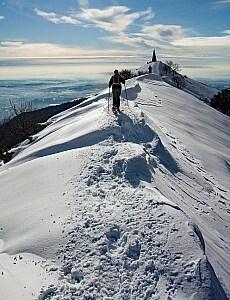 Wanderung am Comer See von Colma di Sormano zum Monte Palanzone