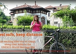 Travel safe keep distance - A guided bicycle tour to the Uneso world heritage site