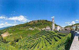 Radreise im Prosecco Weingebiet
