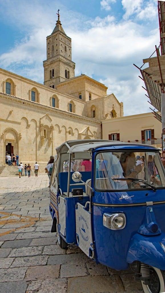 Der Dom in Matera, Basilikata
