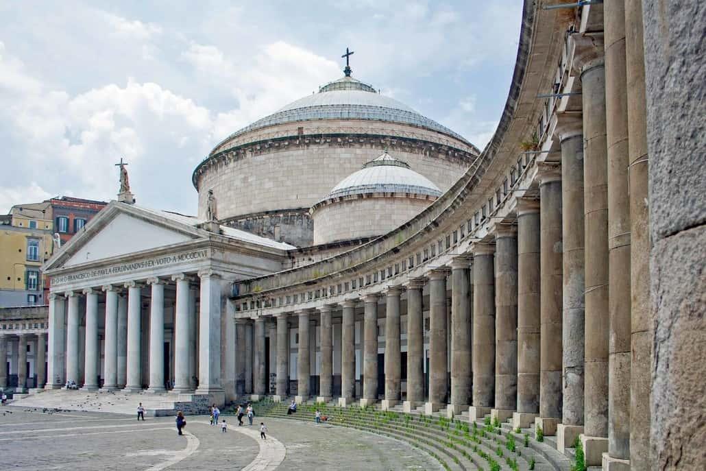 Neapel, Piazza del Plebiscito