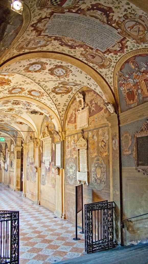 Palazzo Archiginnasio der Universität Bologna
