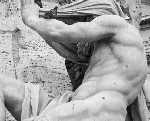 Rom Piazza Navona Vierströmebrunnen