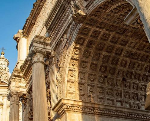 Rom Forum Romanum Titusbogen