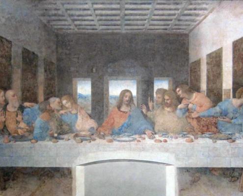 Leonardo da Vinci in Milan