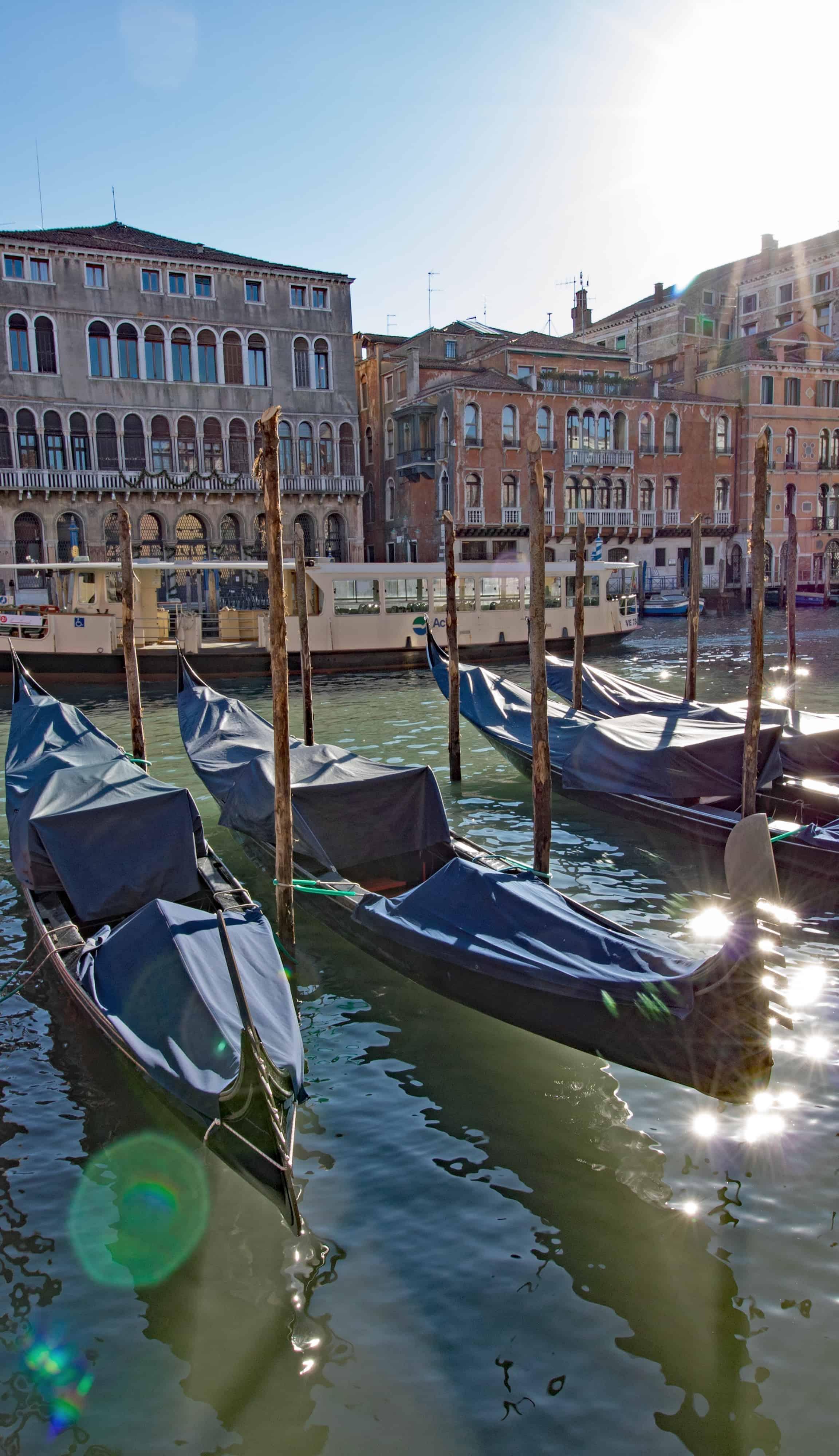 Venezia Canal Grande Gondola