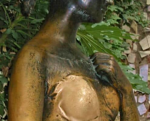 Sculpture of Julia in Verona
