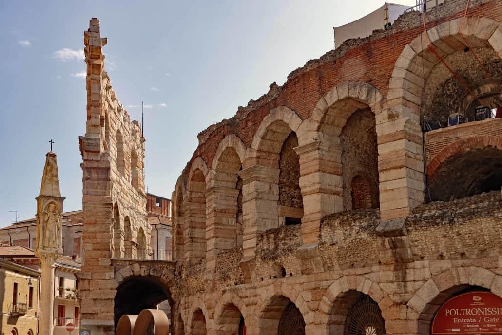 Arena Verona, im Herzen von Verona, Piazza Bra