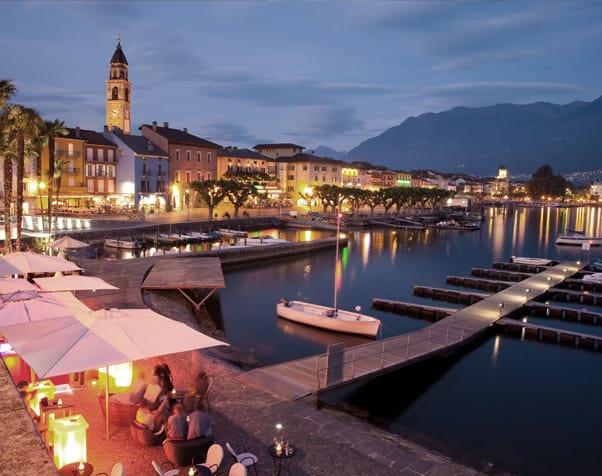 Lago Maggiore in Northern Italy